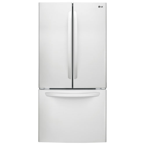 "LG 33"" 23.6 Cu.Ft. French Door Refrigerator (LFC24786SW) - White"