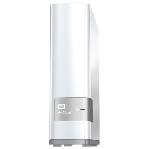 WD My Cloud 3TB Personal Cloud Network Attached Storage (WDBCTL0030HWT-NESN) - White