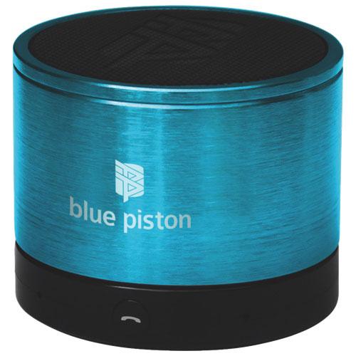 Haut-parleur Bluetooth Blue Piston de Logiix - Turquoise