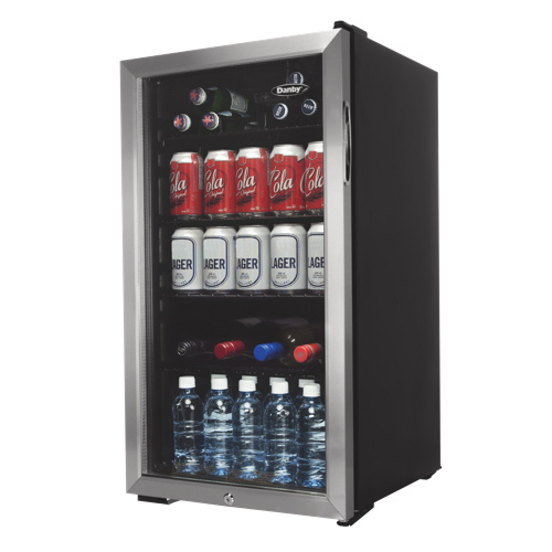 Danby 3 3 Cu Ft Bar Fridge Dbc120bls Black Mini