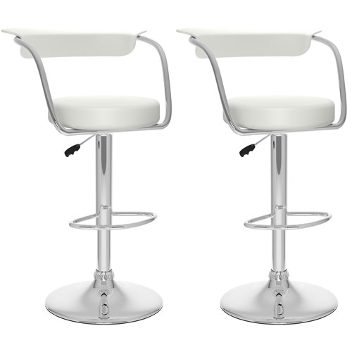 Kitchen Bar Stools Canada: Contemporary Adjustable Height Bar Stool