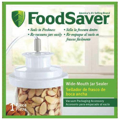 FoodSaver Wide-Mouth Jar Sealer (T03-0023-01P)