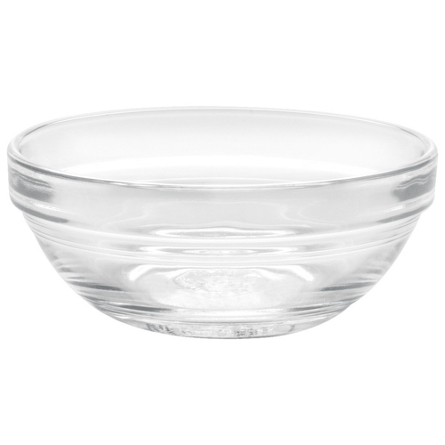"Duralex Lys 3.5"" Stackable Glass Bowl - Set of 6 - Clear"