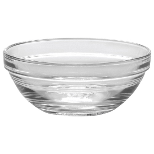 "Duralex Lys 4.1"" Stackable Glass Bowl - Set of 6 - Clear"
