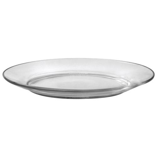 "Duralex Lys 7.5"" Glass Club Plate - Set of 6 - Clear"