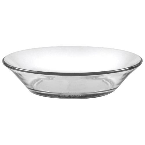 Assiettes calottes en verre Lys de 6,9 po de Duralex - Ensemble de 6 - Transparent