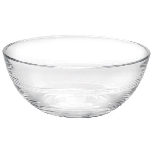 "Duralex Lys 4.7"" Glass Bowl - Set of 6 - Clear"