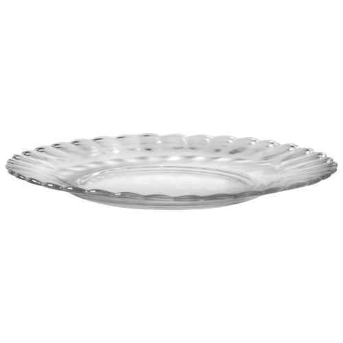 Duralex Paris 9 1 Quot Glass Dinner Plate Set Of 6 Clear