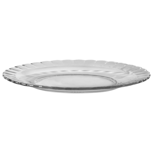 "Duralex Paris 8.1"" Glass Dessert Plate - Set of 6 - Clear"