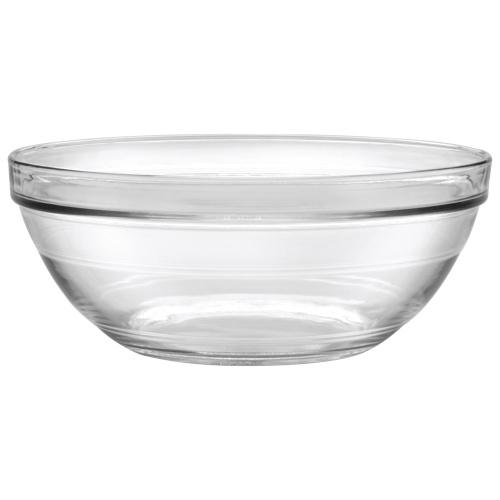 Bols en verre empilables Lys 10,5 po de Duralex - Ensemble de 6 - Transparent