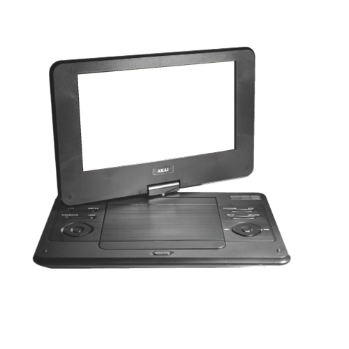 "Akai 9"" Portable DVD Player (AKPDVD901) - Black"