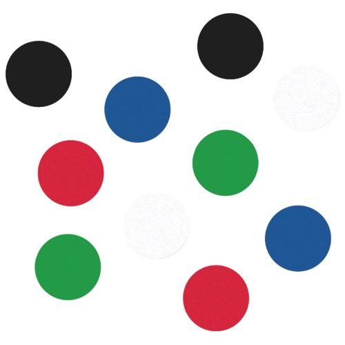 """Quartet 0.75"""" Board Magnet (QRT90301) - 20 Pack"""