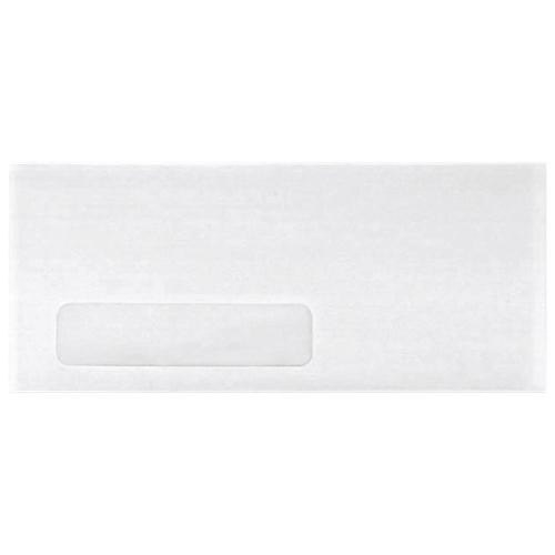 Enveloppes à fenêtre unique de 3,88 po x 8,88 po de Quality Park (QUACO169) - Paquet de 500