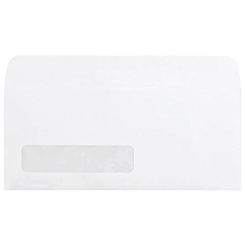 "Quality Park 4.12"" x 9.5"" Single Window Envelope (QUACO179) - 500 Pack"