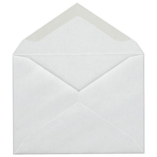 """Quality Park 4.38"""" x 5.75"""" Announcement Envelope (QUACO198) - 100 Pack"""