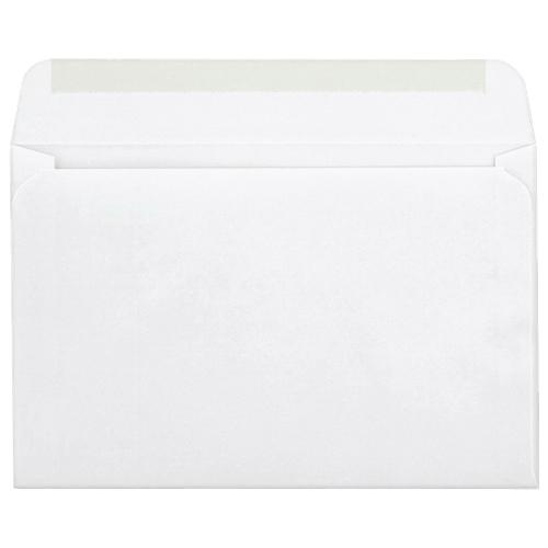 Enveloppe pour faire-part de 5,75 po x 8,75 po de Quality Park (QUACO298) - Paquet de 100