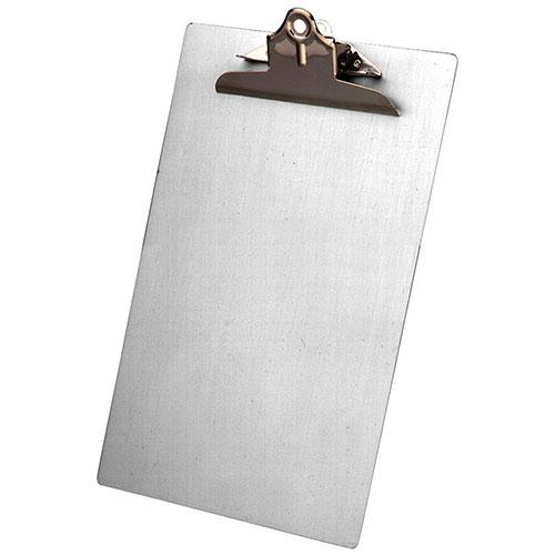 Saunders Legal Aluminium Clipboard (SAU22519) - Silver
