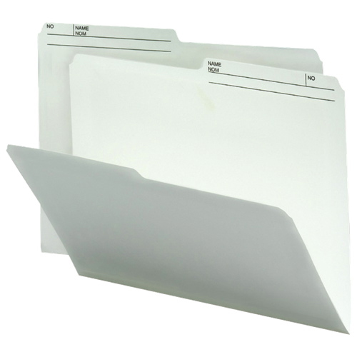 Smead Top-Tab File Folder (SMD10146) - Letter - 100 Pack - Ivory
