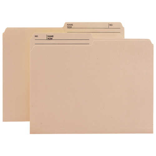 Smead Top-Tab File Folder (SMD10329) - Letter - 100 Pack - Manila