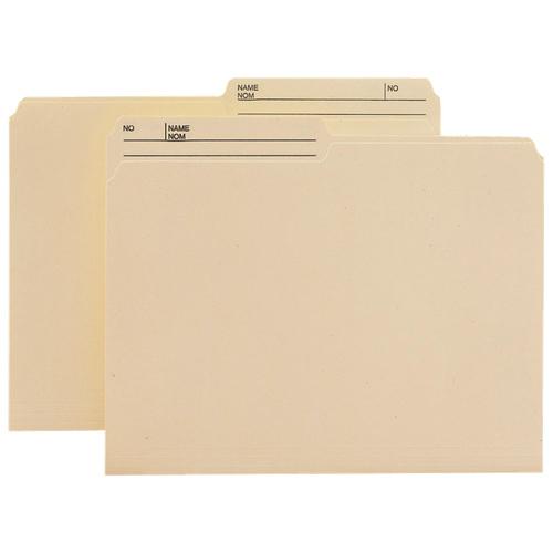 Smead Top-Tab File Folder (SMD10145) - Letter - 100 Pack - Manila