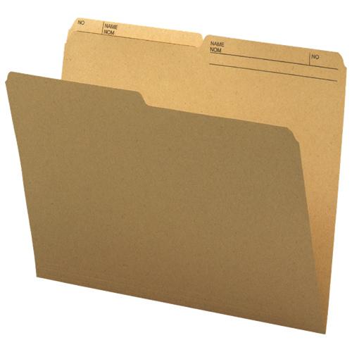 Smead Top-Tab File Folder (SMD10340) - Letter - 100 Pack - Natural Sand