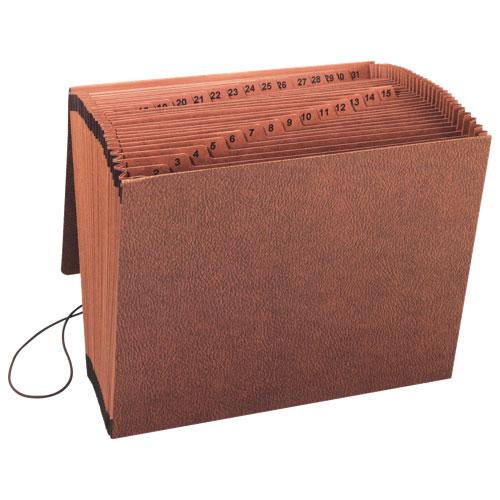 Chemise de classement robuste en accordéon de Sparco (SPR23681) - Brun