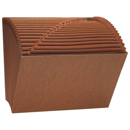 Fichier accordéon robuste de Sparco sans rabat (SPR26534) - Brun