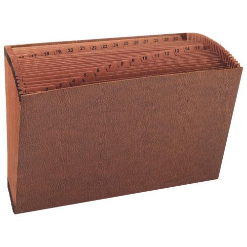 Fichier accordéon robuste de Sparco sans rabat (SPR26538) - Brun