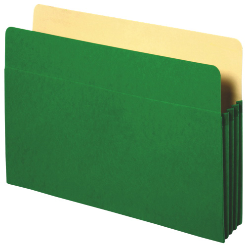 Pochette de classement en accordéon de Sparco (SPR26551) - Vert