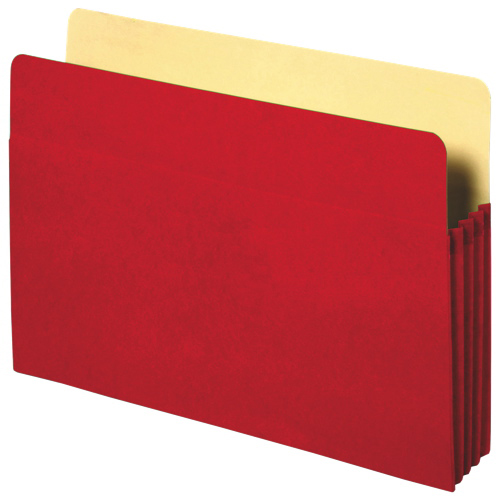 Sparco Accordion File Pocket (SPR26552) - Red