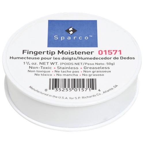 Sparco Fingertip Moistener (SPR01571) - White