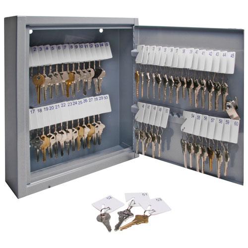 Armoire à clés en acier avec crochets de Sparco (SPR15602) - Gris