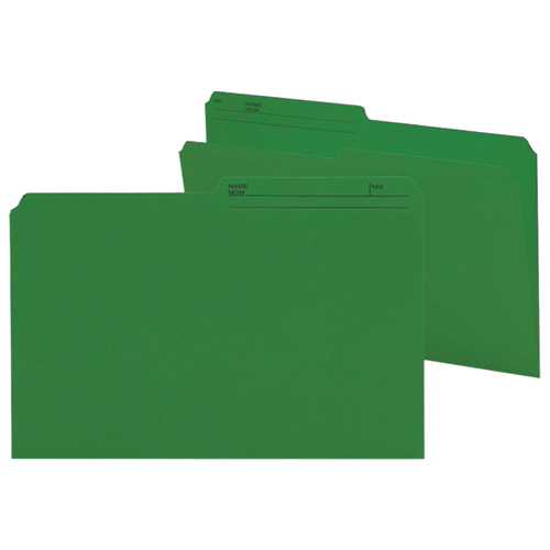 Smead Legal Top-Tab File Folder (SMD15367) - 100 Pack - Green