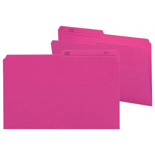 Smead Legal Top-Tab File Folder (SMD15368) - 100 Pack - Pink