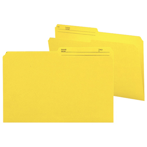 Smead Legal Top-Tab File Folder (SMD15374) - 100 Pack - Yellow