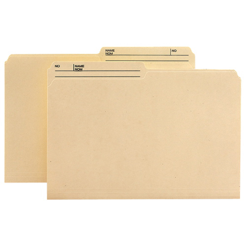 Smead Anti-Microbial Top Tab File Folder (SMD15377) - Legal - 100 Pack - Assorted