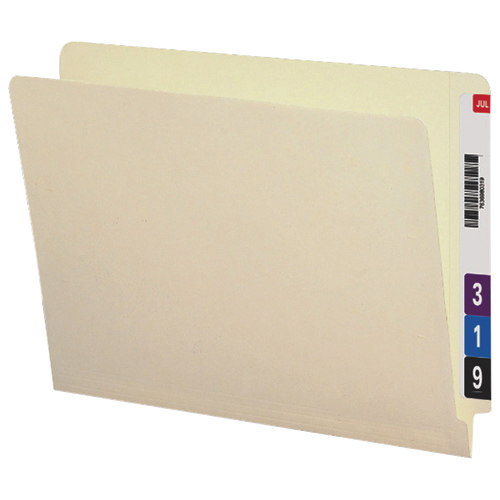 Smead Two-Ply End Tab File Folders (SMD24500) - 100 Pack - Manila