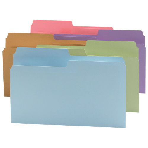 Smead SuperTab Top Tab File Folder (SMD15906) - Legal - Assorted