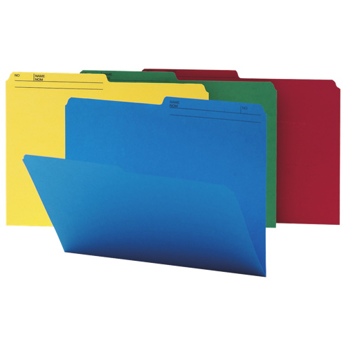 Smead Watershed/Cutless Coloured Folder (SMD16958) - 100 Pack - Assorted