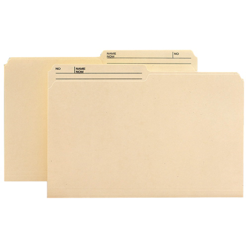Smead Reversible Top Tab File Folder (SMD15329) - Legal - 100 Pack - Manila