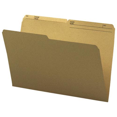 Smead Legal Top-Tab File Folder (SMD15340) - 100 Pack - Natural Sand