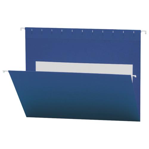 Smead Flex-I-Vision Coloured Hanging Folder (SMD64434) - Letter - 25 Pack - Navy