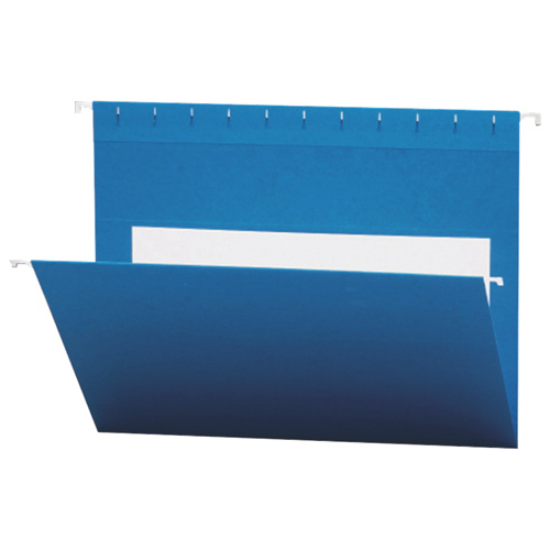 Smead Flex-I-Vision Coloured Hanging Folder (SMD64439) - Letter - 25 Pack - Blue