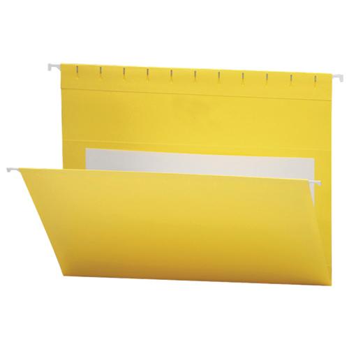 Chemise suspendue colorée Flex-I-Vision de Smead (SMD64441) - Lettre - Paquet de 25 - Jaune
