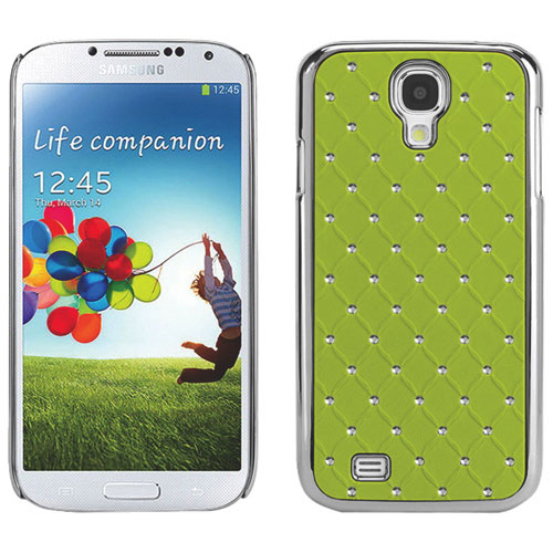 Cellet Lux Diamond Proguard Samsung Galaxy S4 Hard Shell Case - Green