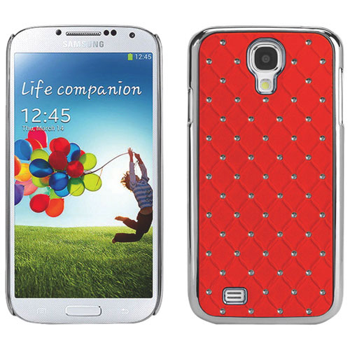 Cellet Lux Diamond Proguard Samsung Galaxy S4 Hard Shell Case - Orange