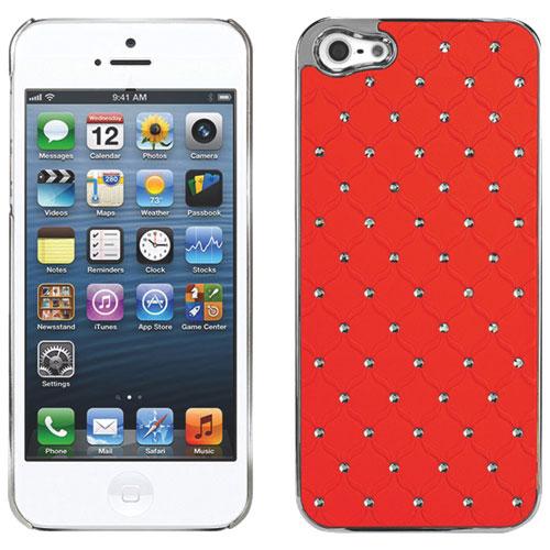 Étui rigide Lux Diamond Proguard de Cellet pour iPhone 5/5s - Orange