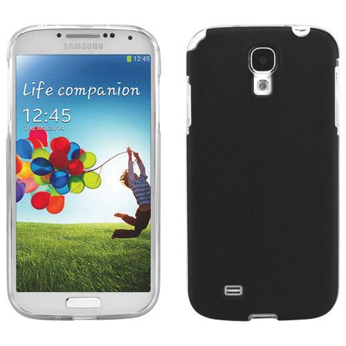 Étui-coque souple Jelli de Cellet pour Galaxy S4 de Samsung - Noir