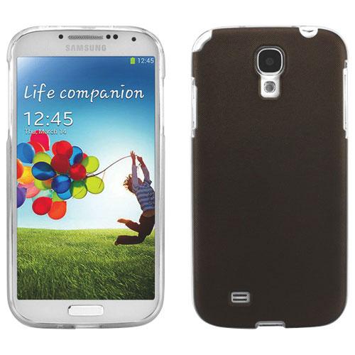 Étui-coque souple Jelli de Cellet pour Galaxy S4 de Samsung - Brun