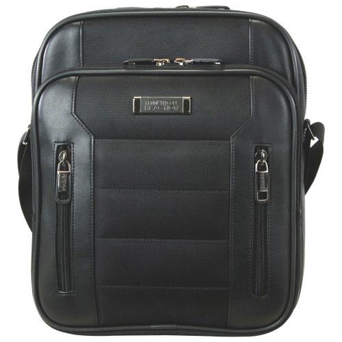 """Kenneth Cole Keystone 13.3"""" Laptop Messenger Bag (KC53838502) - Black"""
